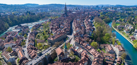 Bern Old Town Aerial Compressed